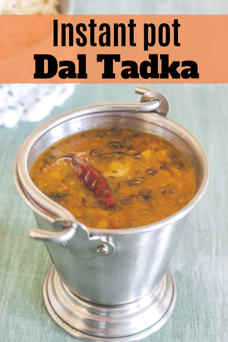 instant pot dal tadka pin