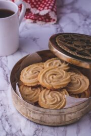 Eggless Butter Cookies Recipe