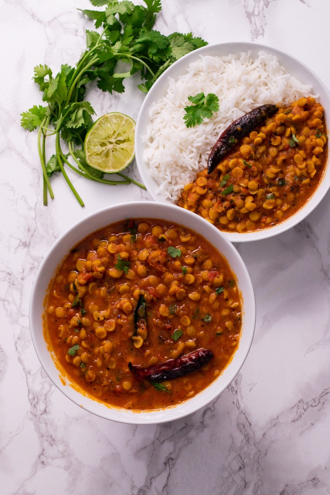 How to make chana dal in instant pot