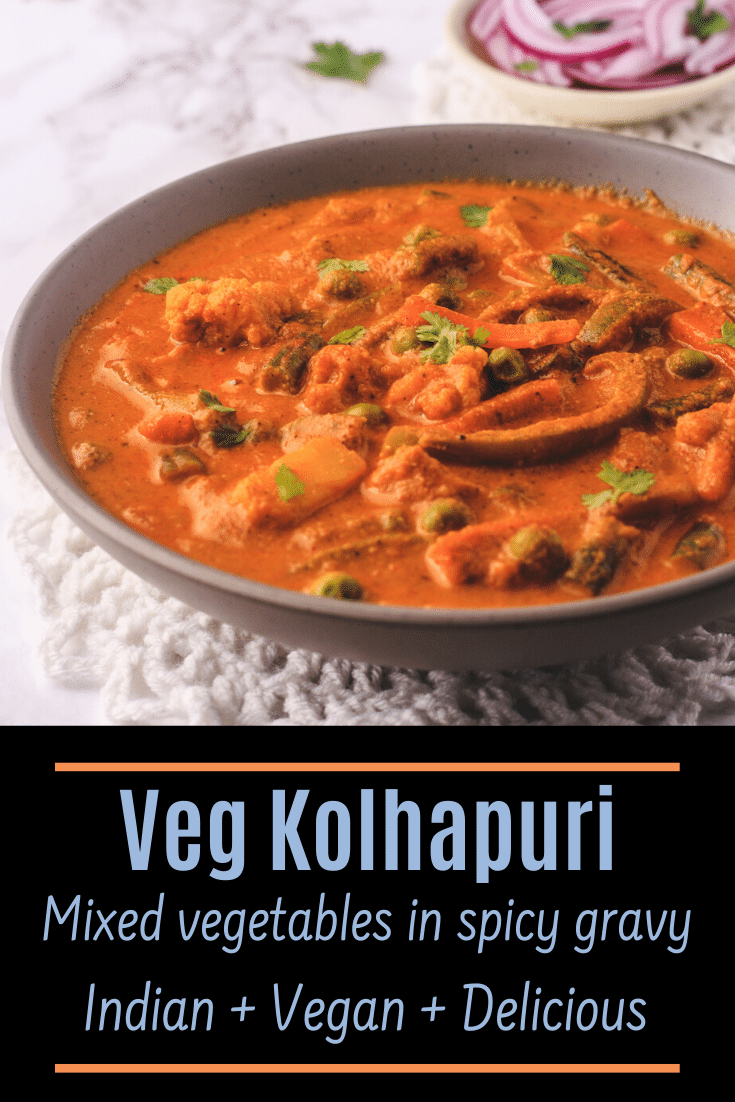Veg kolhapuri recipe pin