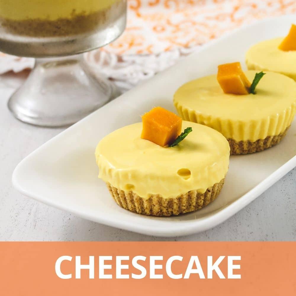 Eggless Cheesecakes