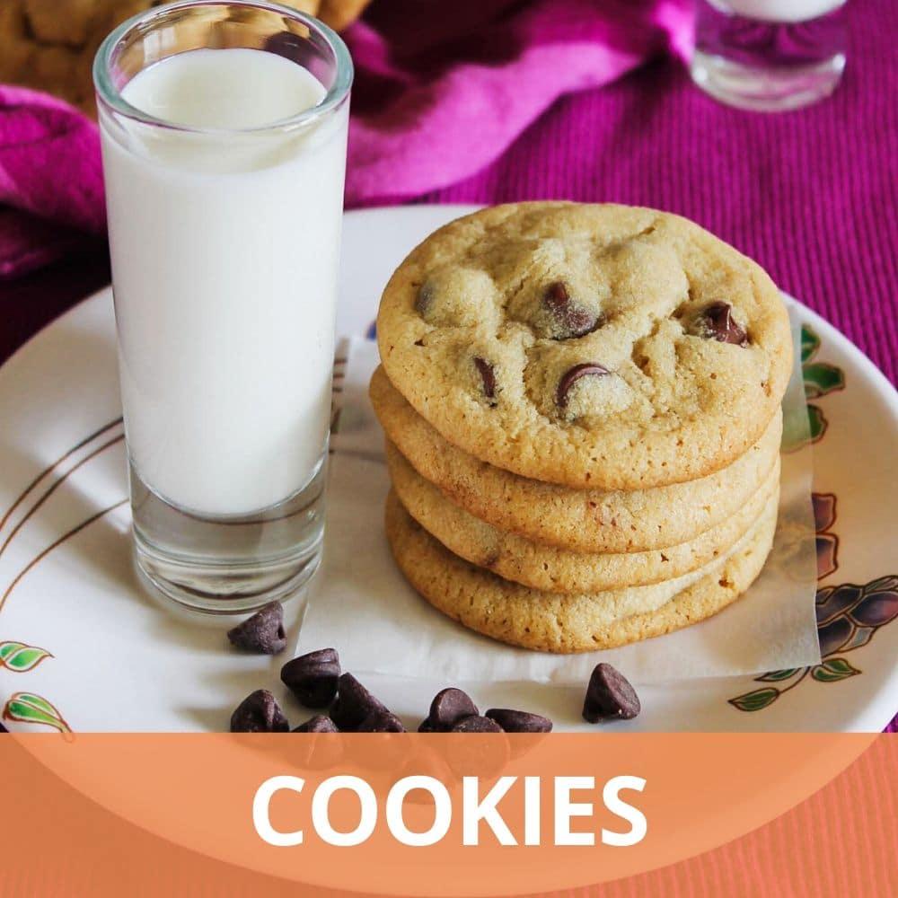 Eggless Cookies Recipes