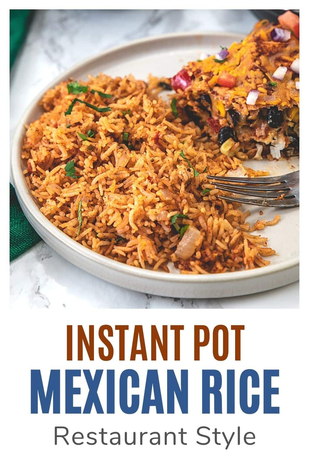 Instant pot Mexican Rice Pin