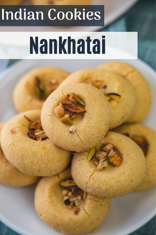 Nankhatai recipe pin